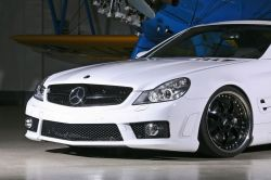 Mercedes Benz SL 65 AMG White Angel von IndenDesign