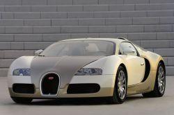 Bugatti Veyron in Gold aus Dubai