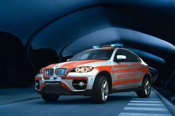 BMW X6 als Notarztfahrzeug