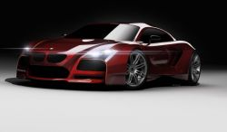 2009 BMW M Concept Design by Idries Noah