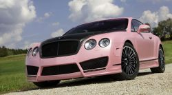 Mansory Vitesse Rosé auf Basis des Bentley Continental GT Speed