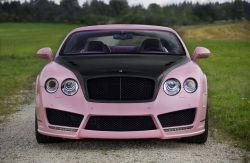 Mansory Vitesse Rosé auf Basis des Bentley Continental GT Speed