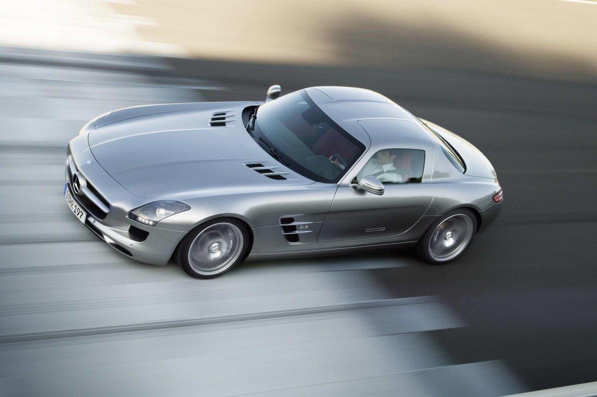 Mercedes Benz Sls Rot