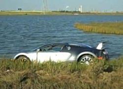 Kann ein Bugatti Veyron schwimmen?