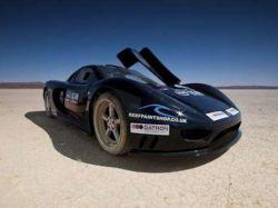 Keating TKR will Geschwindigkeitsrekord