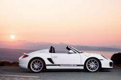 Porsche Boxster Spyder - oben ohne