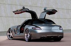 MEC Design zeigt neue Studien vom Mercedes Benz SLS