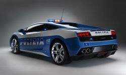 Lamborghini der italienischen Polizei - vorher