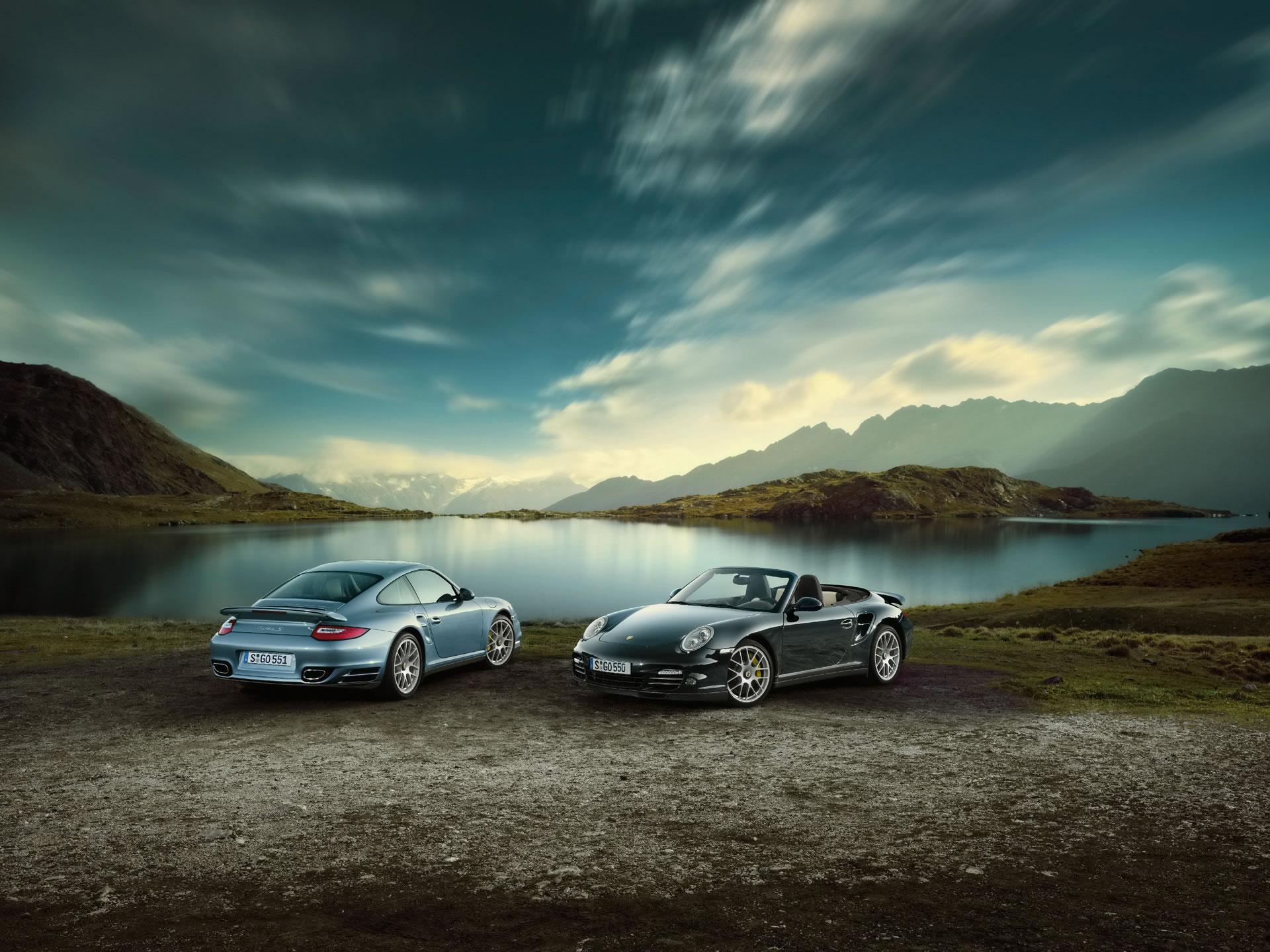 der neue Porsche 911 Turbo S von 2010