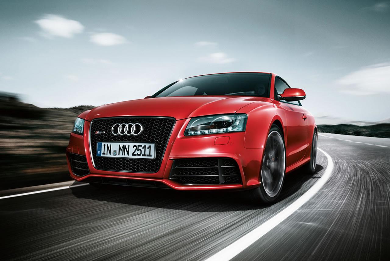 Audi RS5 zeigt sich sportlich