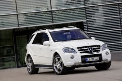 Mercedes ML 63 AMG in neuem Outfit