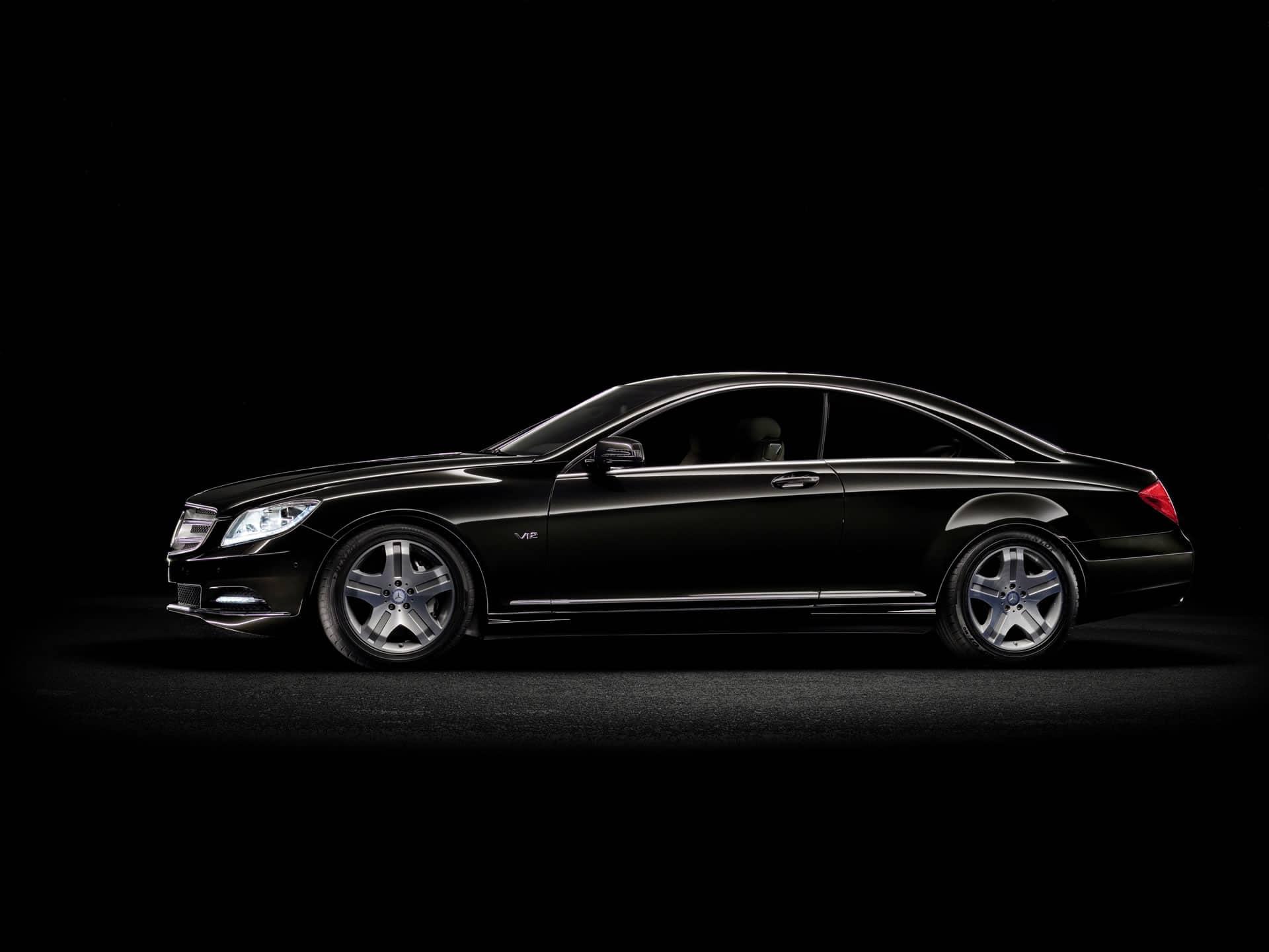 Neues Modell Der Mercedes-Benz CL-Klasse