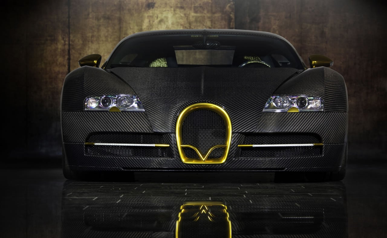 mansory bugatti veyron linea vincero d 39 oro. Black Bedroom Furniture Sets. Home Design Ideas