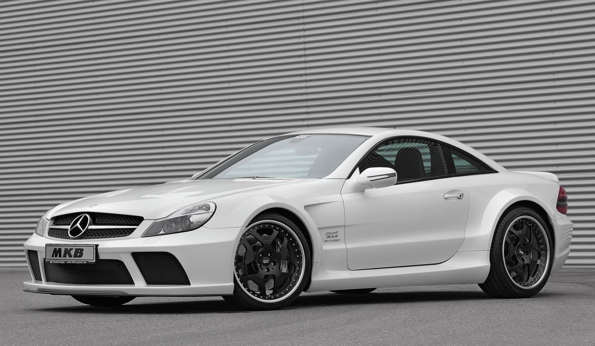 Mkb Mercedes Benz Sl 65 Amg Black Series P 1000