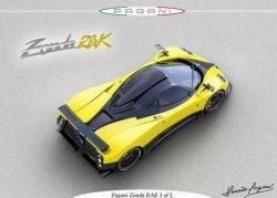 Pagani Zonda F C12S RAK