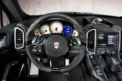 Porsche 958 Cayenne Breitversion von Mansory