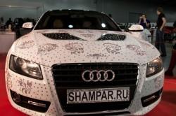 Audi A5 mit Swarovski Kristallen von Shampar