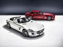 Mercedes-Benz SLS AMG Roadster - oben ohne