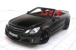 Brabus 800 E V12 Cabriolet - oben offen