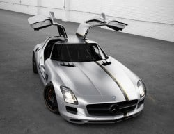 "Mercedes-Benz SLS AMG ""Silver Wing"" by Wheelsandmore"