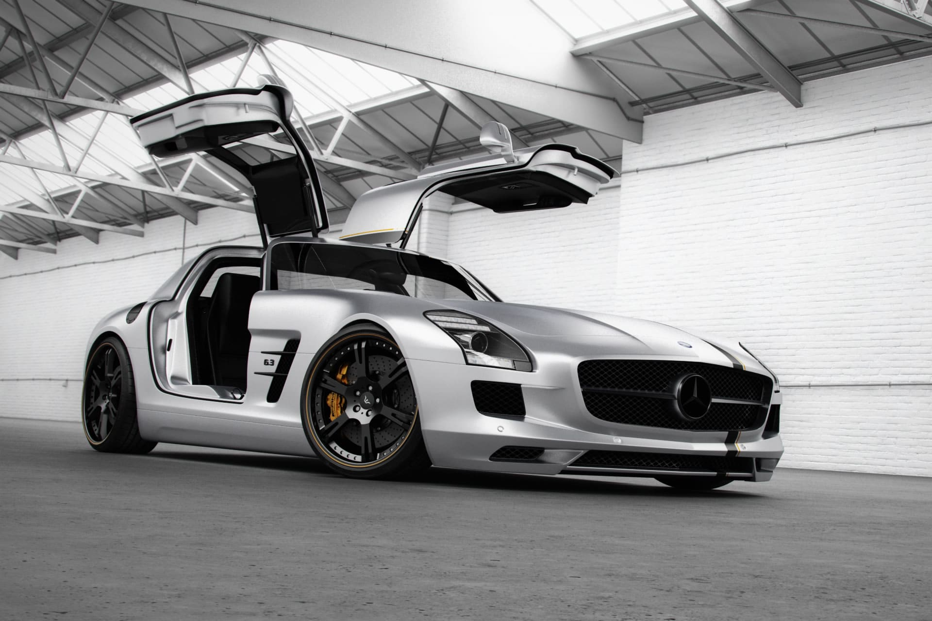 Mercedes benz sls amg by wheelsandmore for Silverlit mercedes benz sls amg
