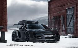 Jon Olsson's neuer Skilift ist ein schwarzer Audi R8