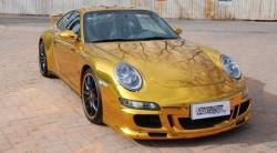 Porsche 911 GT3 in Gold