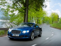 Neuer Bentley Continental GT Speed in Goodwood