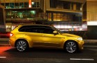 BMW X5 M in Gold in Russland