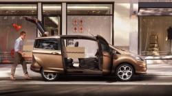 Durchgehend geöffnet - der neue Ford B-MAX