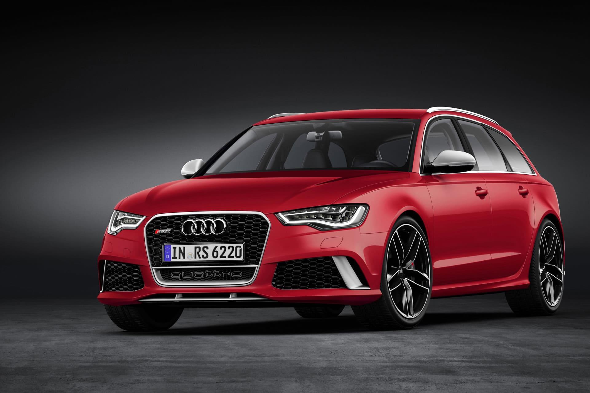 Audi Rs 6 Avant Ps Bolide In Sportkombi Optik