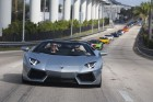 Lamborghini Aventador schafft 338 km/h auf der Startbahn in Miami