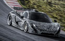 Ausfahrt: McLaren schickt neuen P1 erstmals auf die Strecke
