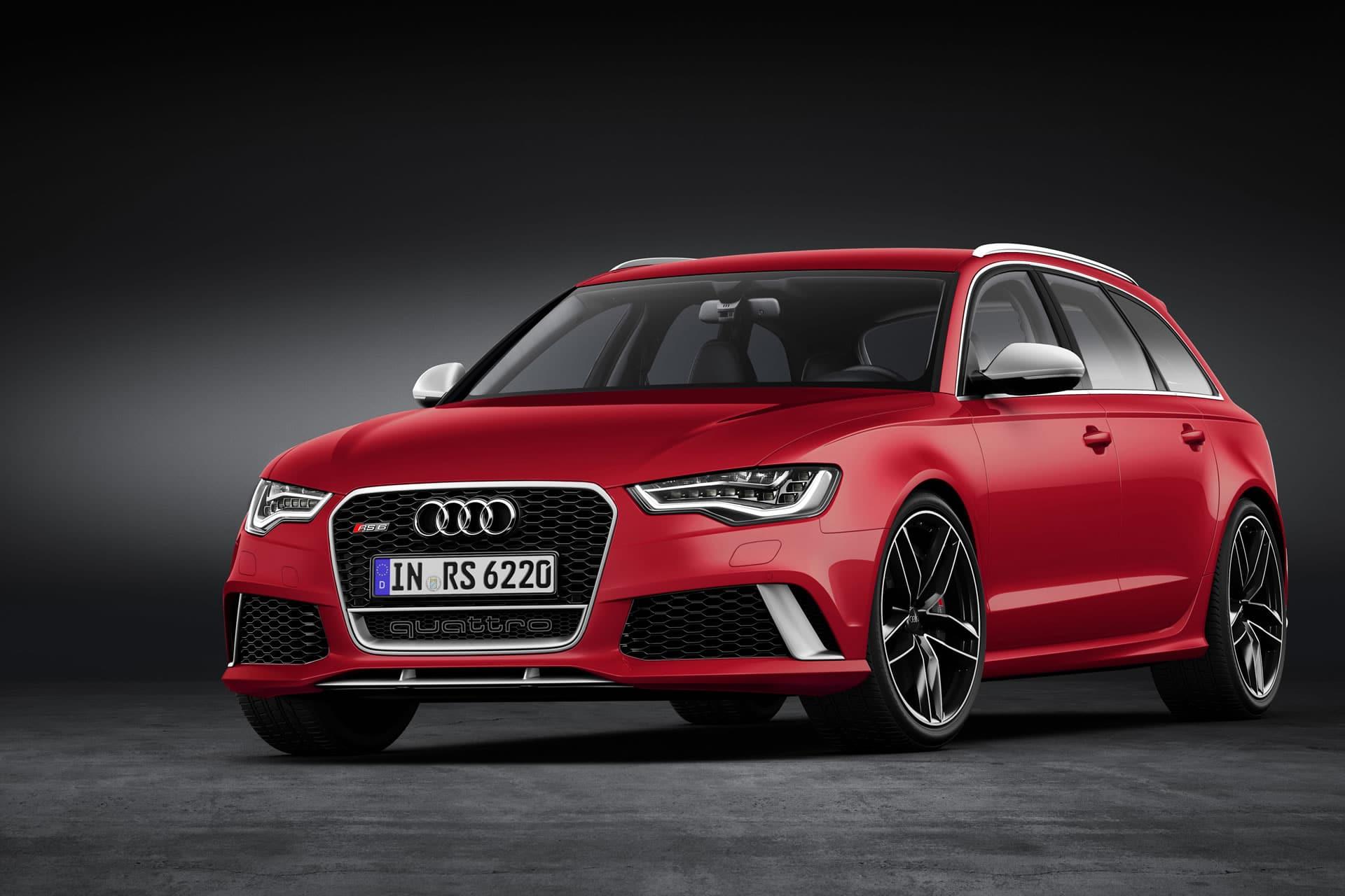 Audi puscht Sportkombi: RS6 Avant plus soll über 600 Pferde leisten