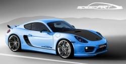 Genf: Tuner speedART veredelt neuen Porsche Cayman zum SP81-CR