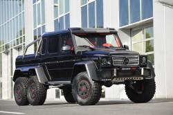 BRABUS B63S - 700 6x6 - 700 PS für sechs Räder