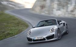 Premiere in LA: Porsche zeigt seine neuen 911 Turbo Cabriolets