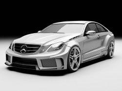MEC Design schärft E-Klasse Coupé/Cabrio W207 nach