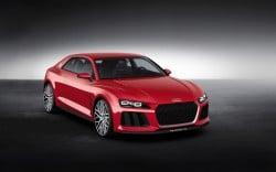 Audi Sport quattro laserlight concept - mit Laserlicht