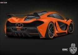 McLaren P1: GSC pimpt Hybrid-Renner zum Night Glow