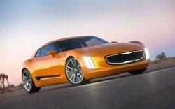 Kia GT4 Stinger - Sportwagen-Studie in Detroit präsentiert