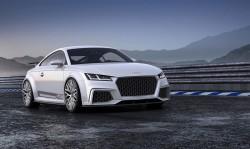 Genfer Power-Renner: Audi TT quattro sport concept