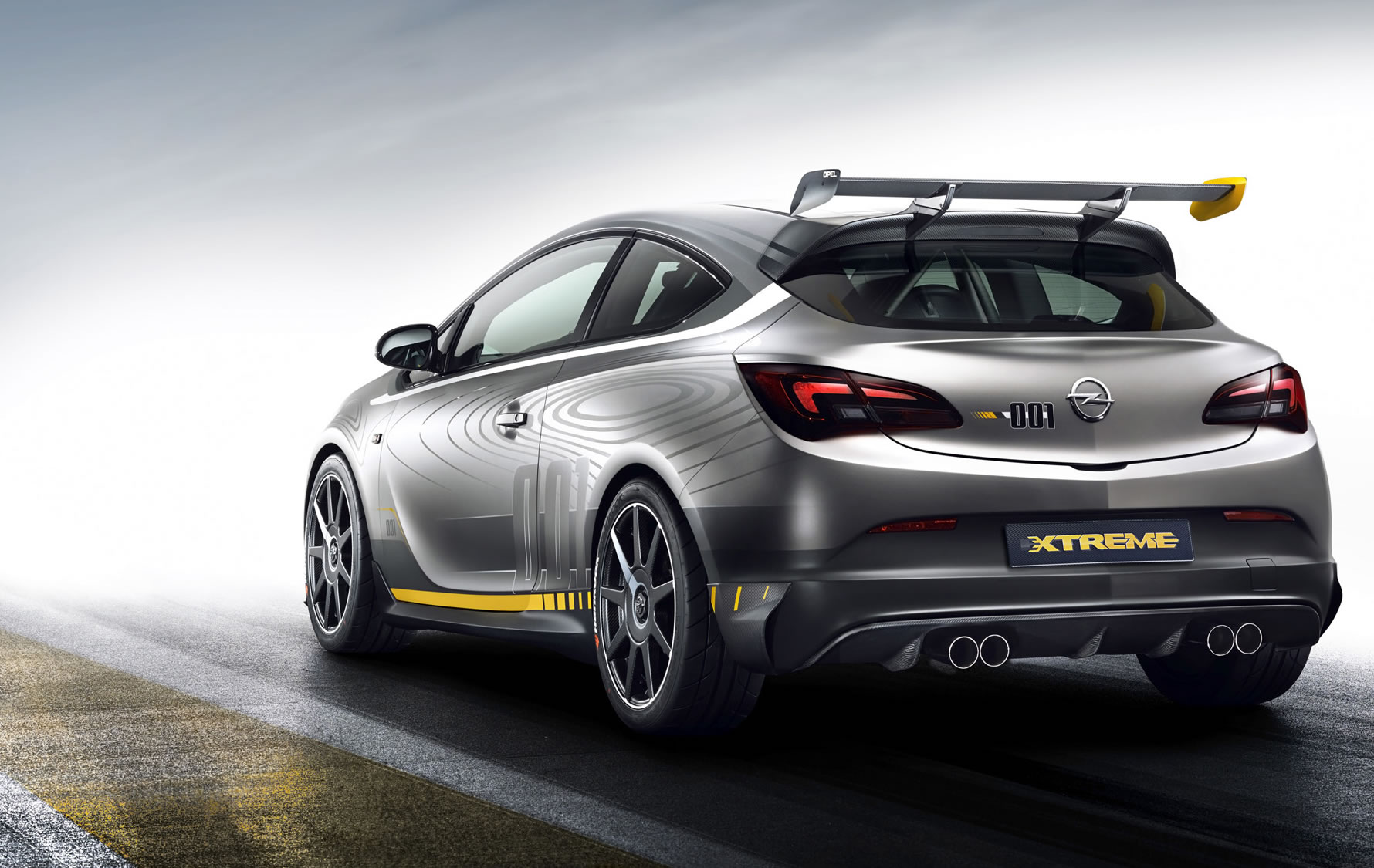 opel astra opc extreme mit ber 300 ps genf 2014. Black Bedroom Furniture Sets. Home Design Ideas
