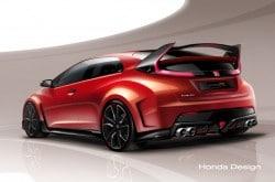 Honda Civic Type R Concept - Erste Vorschau in Genf