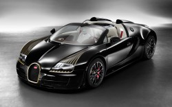 Bugatti Veyron Grand Sport Vitesse Legend Black Bess: Fünfte Limited-Edition