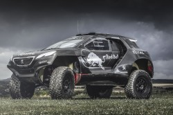 Peugeot 2008 DKR: Löwen präsentieren innovativen Dakar-Renner