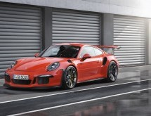 Porsche präsentiert seinen neuen Sportwagen 911 GT3 RS
