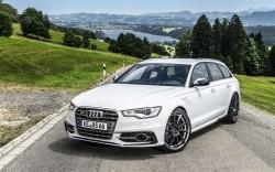 Das Auto vor dem Kurztrip durchchecken - Abt Audi AS6 R